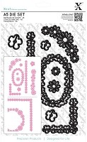 DoCrafts - Xcut Die - Naive Floral Borders
