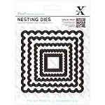 DoCrafts - Xcut Nesting Dies -  Scalloped Square