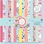 "DoCrafts - Papermania 6""x6"" Paper Pack - Bellissima"