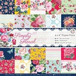 "DoCrafts - Papermania 6""x6"" Paper Pack - Simply Floral"