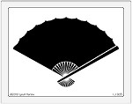 Dreamweaver Jumbo Brass Stencil - Open Fan
