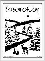 Dreamweaver Stencil - Season of Joy