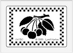 Dreamweaver Medium Metal Stencil - Cherries