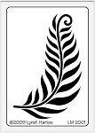 Dreamweaver Medium Metal Stencil - Petite Fern