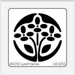Dreamweaver Medium Metal Stencil - Fairy Flower Circle