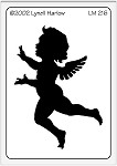 Dreamweaver Medium Brass Stencil - Cupid