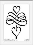 Dreamweaver Medium Metal Stencil - Dangling Heart