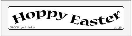 Dreamweaver Medium Metal Stencil - Happy Easter