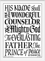 Dreamweaver Extra Large Brass Stencil - Prince of Peace