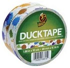 "Duck Tape - 1.88"" x 10 Yard Roll - Patterned Duck Tape - Paint Splatter"