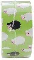 "Duck Tape - 1.88"" x 10 Yard Roll - Patterned Duck Tape - Bah Bah Sheep"