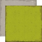 "Echo Park - Chillingsworth Manor - 12""x12"" Cardstock - Distressed Green/Grey"
