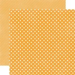 "Echo Park - Dots & Stripes Homefront 12""x12"" paper - Marmalade Small Dots"