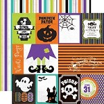 "Echo Park - Mini Theme - Ghost Town - 12""x12"" Double Sided Paper - Ghost Town Journaling"