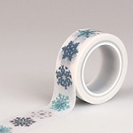 Echo Park - Hello Winter - Decorative Tape - Snowflakes