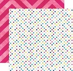 "Echo Park - Here & Now Collection by Lori Whitlock - 12""x12"" Double Sided Paper - Dots"