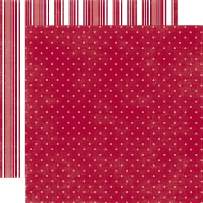 Echo Park-Dots & Stripes Holiday-Paper-Sleigh Ride Small Dot