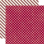 Echo Park-Dots & Stripes Holiday-Paper-Sleigh Ride Medium Dot