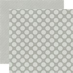 Echo Park-Dots & Stripes Holiday-Paper-Silver Bells Large Dot