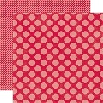Echo Park-Dots & Stripes Holiday-Paper-Holly Berry Large Dot