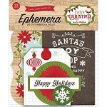 Echo Park - I Love Christmas Collection - Die Cut Ephemera