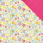 "Echo Park - I Love Sunshine Collection - 12""x12"" Cardstock - Pinwheel Afternoon"