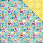 "Echo Park - I Love Sunshine Collection - 12""x12"" Cardstock - Sandy Toes"