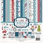 Echo Park - I Love Winter Collection - Collection Kit