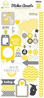 Echo Park - Mini Themes - Yellow Submarine - Sticker Accents