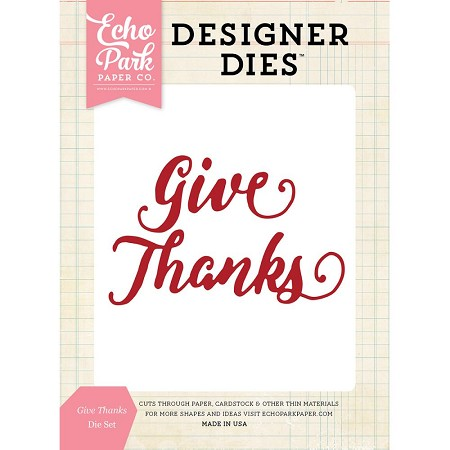 Echo Park - Designer Dies - Give Thanks