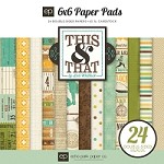 Echo Park - This & That Charming - 6x6 Paper Pad