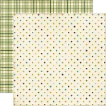 Echo Park - This & That Charming 12x12 paper - Dots & Plaid