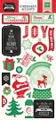 Echo Park - Christmas Cheer Collection - 6x13 Chipboard