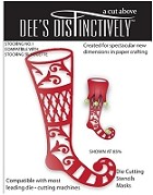 In The Making - Dee's Distinctively Die - Stocking Overlay 1