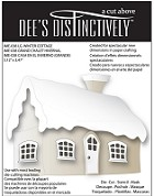 In The Making - Dee's Distinctively Die - Large Winter Cottage