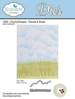 Elizabeth Craft Designs - Die - CountryScapes Clouds and Grass