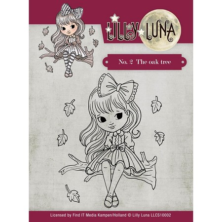 Find It Trading - Lilly Luna Clear Stamp - The Oak Tree