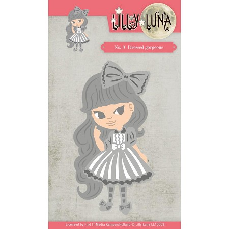 Find It Trading - Lilly Luna Die - Dressed Gorgeous