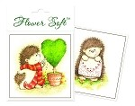 Flower Soft-Card Topper-Hedgrow Friends-With Love