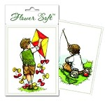 Flower Soft-Card Topper-Moments in Time-Boys Hobbies