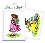 Flower Soft-Card Topper-Moments in Time-Girls Flowers