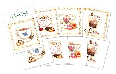Flower Soft-Card Topper-Recipes-Break Time Beverages