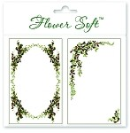 Flower Soft-Card Topper-Christmas Holly & Ivy