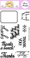 *PRE-ORDER*  Frantic Stamper Clear Stamp Set - Many Thanks