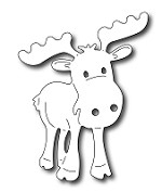 *PRE-ORDER* Frantic Stamper Precision Die - Adorable Moose