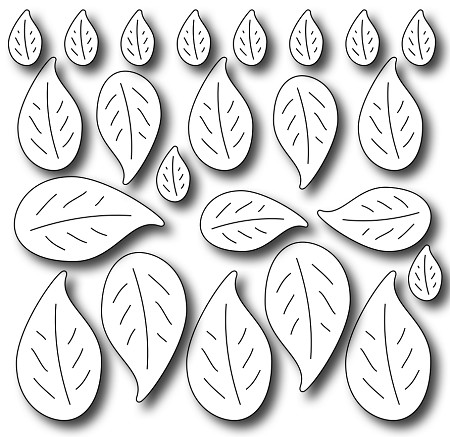 Frantic Stamper - Precision Dies - Petite Leaves