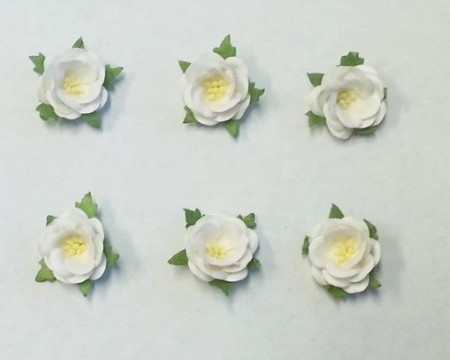 Frantic stamper mulberry paper flowers small wild rose white mightylinksfo