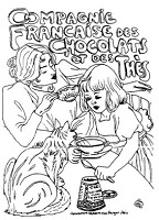 Frantic Stamper Cling-Mounted Rubber Stamp - Med Chocolat