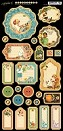 *PRE-ORDER* Graphic 45 - Children's Hour Collection - Journaling Chipboard