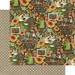 "*PRE-ORDER* Graphic 45 - Children's Hour Collection - 12""x12"" cardstock - August Montage"